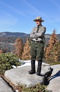 One of the highlights of our visit was meeting Park Ranger Ryan Verhegge. Knowledgeable and enthusiastic, he took us on a terrific hike in the Giant Forest.