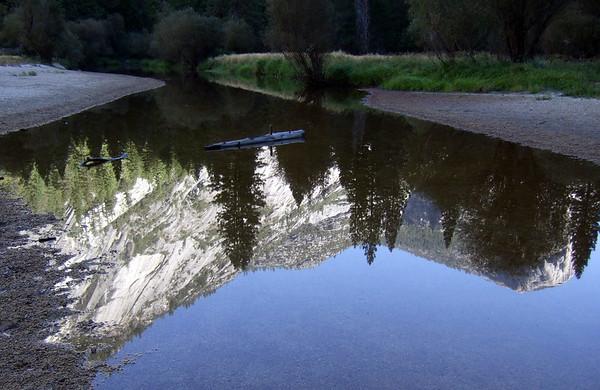 Mirror Lake (pretty much Mirror Sandbar at this time of year)