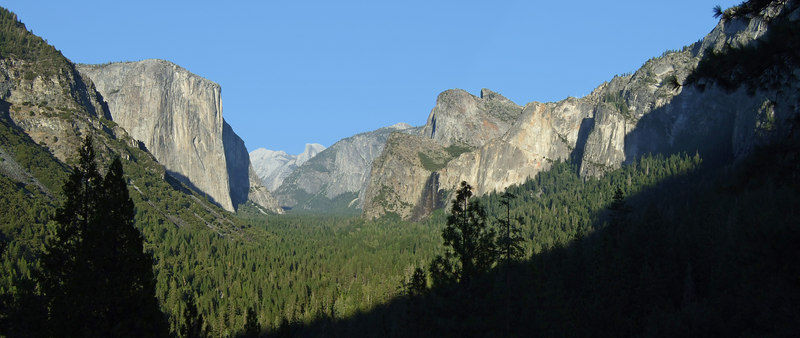 Entering Yosemite Valley (a first for Stacey)