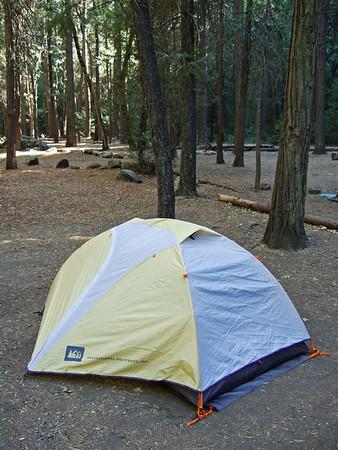 Obligatory tent shot