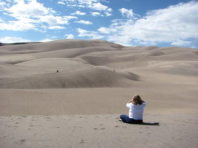 Sand Dunes Natonal Park