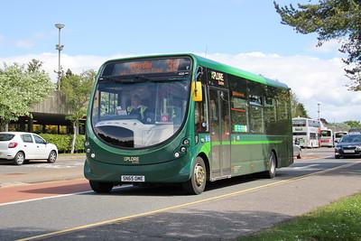 Travel Dundee 435 NInewells Hospital Dundee 5 May 16