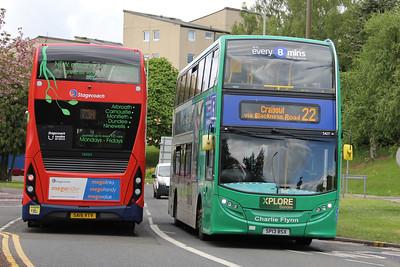 Travel Dundee 5427_Stagecoach East Scotland 13054 Ninewells Hospital Dundee May 16 copy