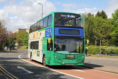 Travel Dundee 5429 NInewells Hospital Dundee May 16