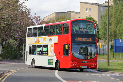 Travel Dundee 4680 NInewells Hospital Dundee May 16
