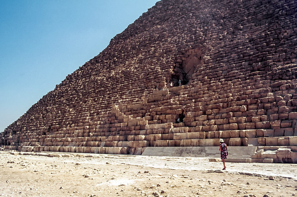 Great Pyramid - Khufu / Cheops, 2560 BC