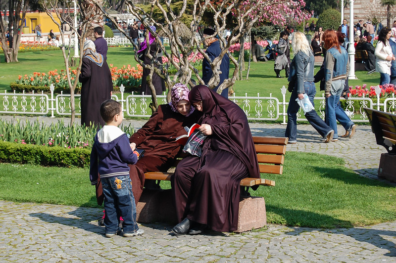 Family in Istanbul