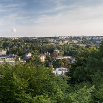 Luxembourg City from Melia Hotel