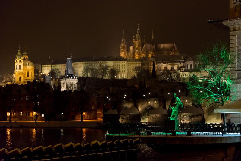 Charles Bridge & Prague Castle, Czech Republic, 2014