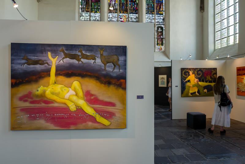 Jip Wijngaarden, Oude Kerk, Delft