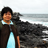 It was a slow and rocky walk down to the waterline at Punta Suarez od Espanola Island.