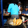 Otavalo Market<br /> <br /> Empanada in pork, chicken or beef fillings.