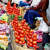 Otavalo Market<br /> <br /> Tomatoes, tomatoes and more tomatoes.