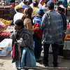 Otavalo Market<br /> <br /> They do have panhandlers here too.