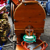 Otavalo Market<br /> <br /> This is a nicely crafted wooden sugar cane juicer.