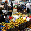 Otavalo Market<br /> <br /> Pineapples, limes, yellow potatoes, onions, melons, papayas