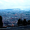 This rainy day picture of Quito was taken from the street on the way up to the Winged Virgin's location.
