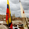 A view of a Quito roof top.