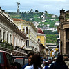The Winged Virgin Monument is visible almost everywhere the city of Quito.