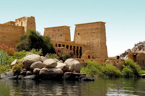 PHILAE TEMPLE, AGILIKA ISLAND, EGYPT