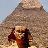 A lot of Egyptologist claim that the head on the Sphinx is of Chepren.