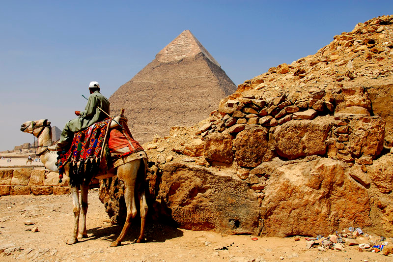 This is one of my best shot at the Giza Pyramid area.