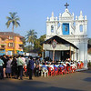 The Congregation. Candolim. Goa. India.