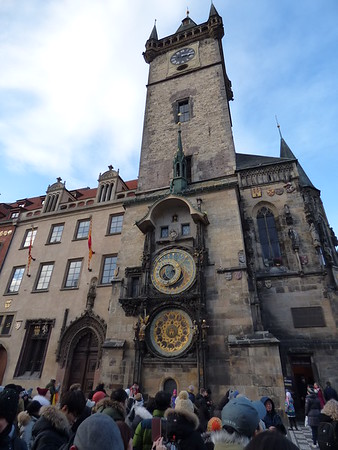 town hall and astronimical clock
