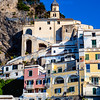 Amalfi, Italy - Typical housing