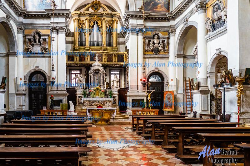 Venice - Church of Santa Maria del Giglio