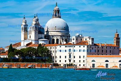 Venice - Grand Canal Santa Maria della Salute
