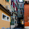 Koper, Slovenia - Colourful alley