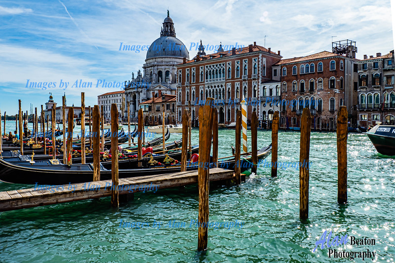 Venice - Grand Canal<br /> View across the Canal <br />     from Giglio Vaparetto station