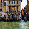 Venice - Palazzo Salviati<br /> Former mansion of glass company<br /> with striking gold mosaics