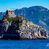 Amalfi - Overlooking the entrance - <br /> Capo di Conca