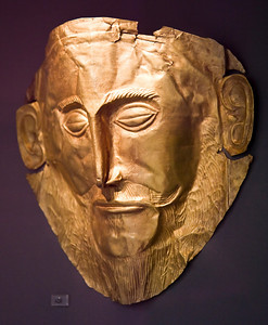 """Agamemnon's Gold Mask"", National Archaeological Museum"
