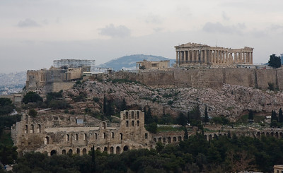 Acropolis from Filopappou Hill