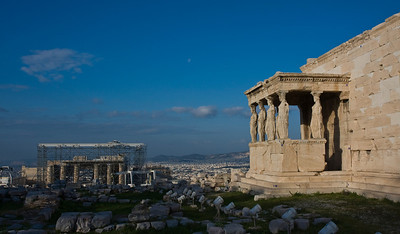 Acropolis with Erechtheion and Propylaia