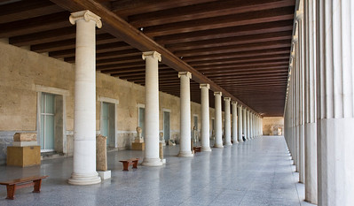 Reconstructed Stoa of Attalos in Ancient Agora