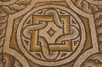 Mosaic floor, Byzantine and Christian Museum