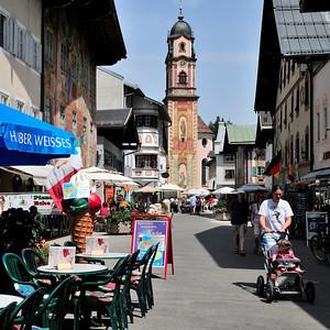 Mittenwald, Street Scene