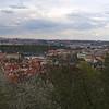 View of Prague from Nebozizek Restaurant