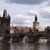 Prague: Charles Bridge. King Charles believed in numerology and waited for an auspicious time to begin building bridge: 5:31AM, July 9, 1357. It took 50 years to build.