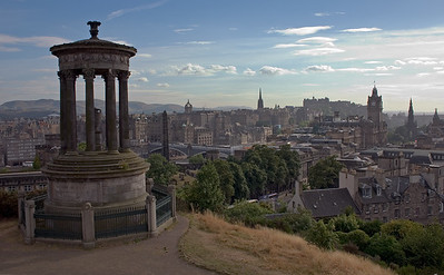 View from Calton Hill, Edinburgh