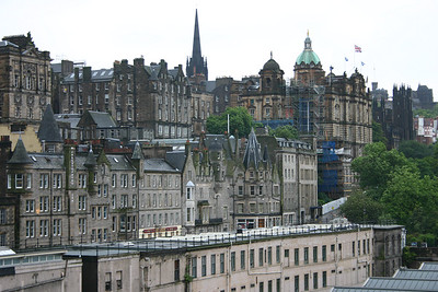 Old Town from North Bridge, Edinburgh