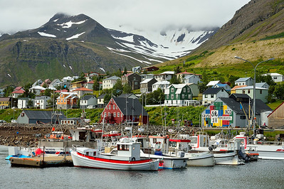 Historic Herring village of Siglufjordur 3
