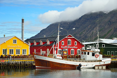 Historic Herring village of Siglufjordur 2.