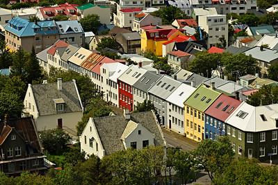 Old Town from Hallgrimskirkja (cathedral)  2