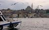 Istanbul panorama with Süleymaniye Mosque