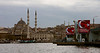 Istanbul panorama with Galata Bridge